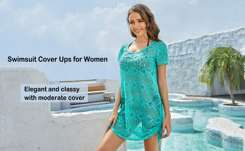 WOMENS BEACH WEAR SWIMSUIT COVER UPS