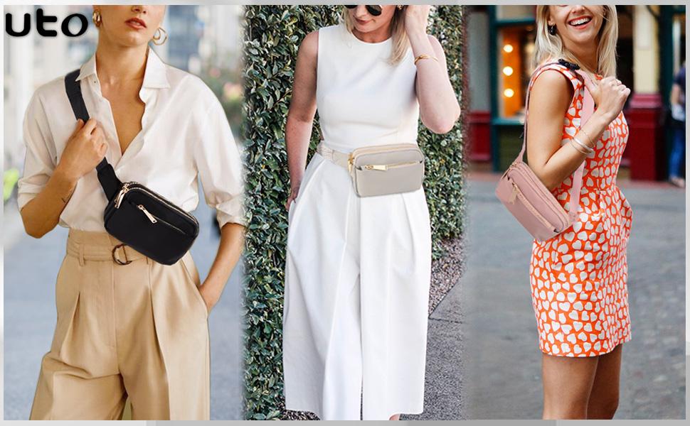 riñoneras moda mujer