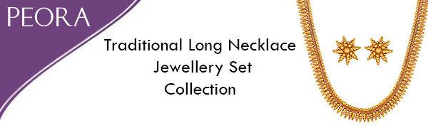 traditional necklace long jewellery set
