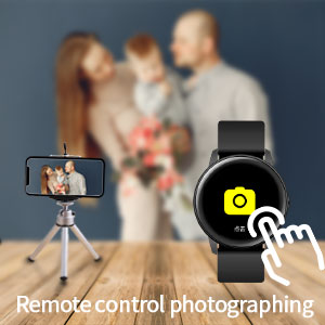 smartwatches with remote control / shutter