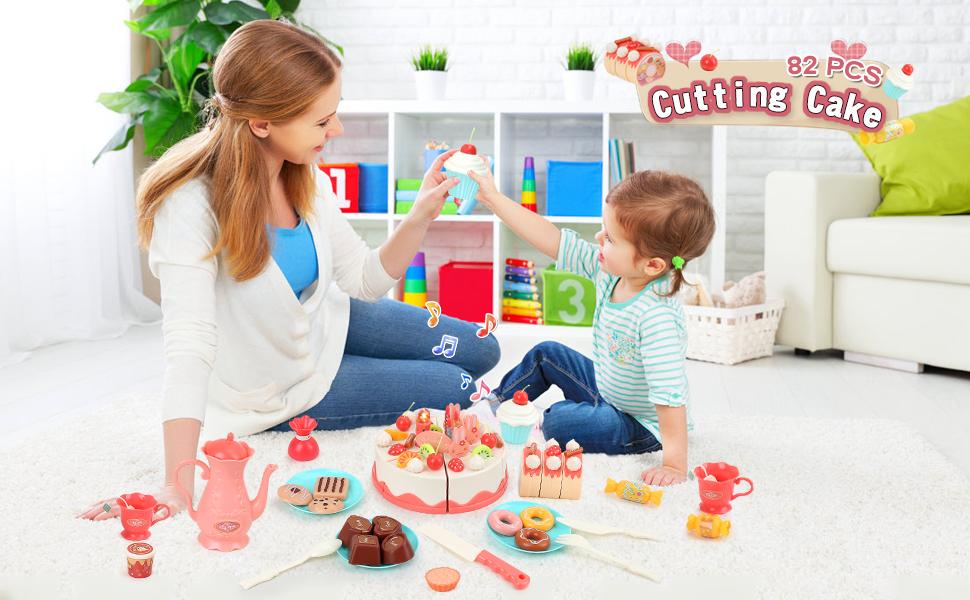 Cutting cake set