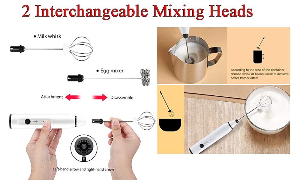 MESOCO rechargeable handheld milk forther