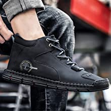 hand stitching boots