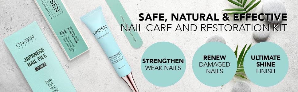 nail restoration, repair, damaged nails, natural nails, nail shine, cuticle conditioner