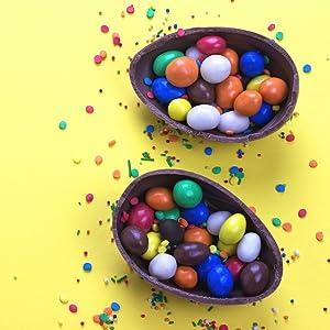 cadbury foil wrap hersheys reeses twix snickers milk dark chocolate bunny kids favorite surprise