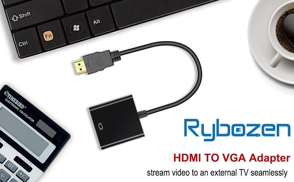 Rybozen HDMI to VGA adapter