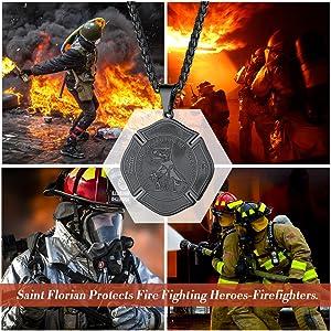 firefighter pendant