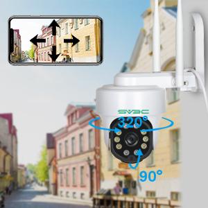pan and tilt camera