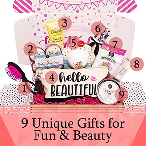 Hey It's Your Day Women's birthday gift box set birthday gifts for women gift basket for birthday