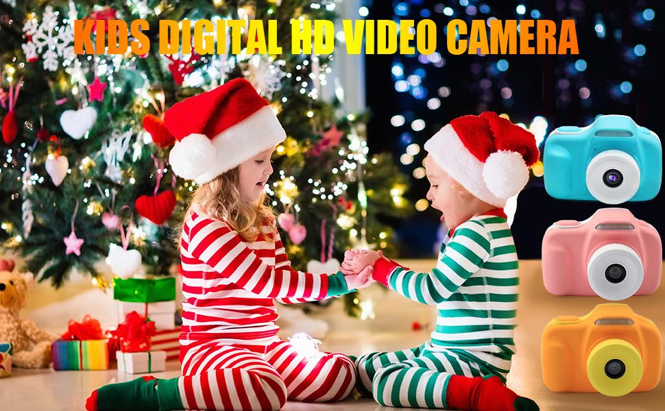 2019 New Upgraded Kids Digital Camera Specifications: