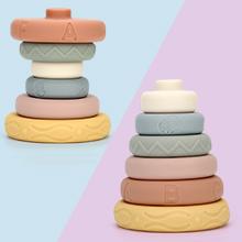 Mini Tudou Stacking Nesting Toys Montessori Sensory Toys for babies 6 to 12 months-5