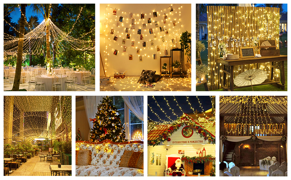 widely use string lights