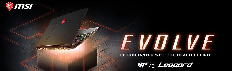 New MSI GP75 Leopard Gaming Laptop