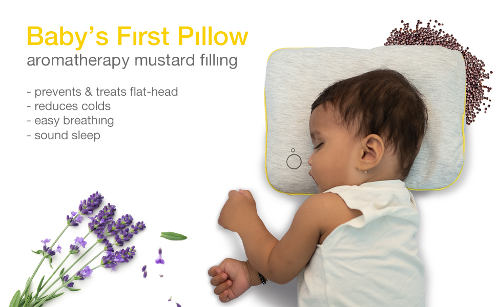 Baby first pillow