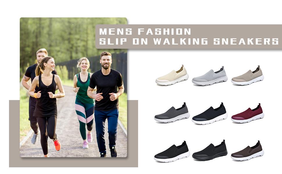 Lancrop slip on walking sneaker