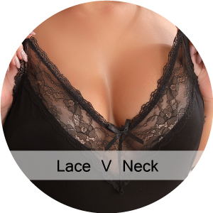 Lace v neck
