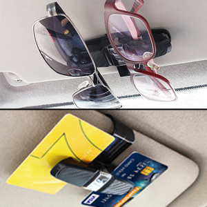 X and 3 3 Pieces - Gray CoolKo Newest and Improved 180/° Rotational Eye Glasses Mount Holder with Ticket Card Clip for Tesla Model S
