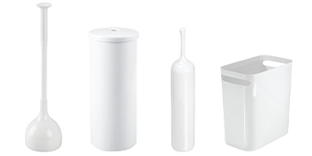 plunger toilet tissue reserve bowl brush waste can clean your entire bathroom