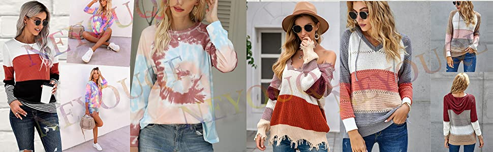 NEYOUQE Women autumn and winter tops
