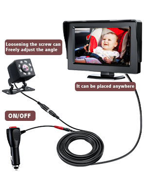 baby car camera for back seat