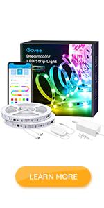 rgbic 32.8ft led strip lights app control