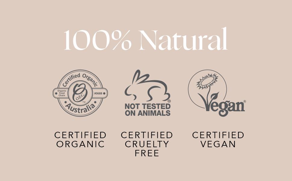 INIKA Organic Liquid Eyeliner Certifications
