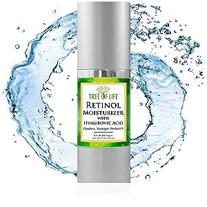 Retinol Moisturizer Cream Anti Aging Face Serum for Skin 0