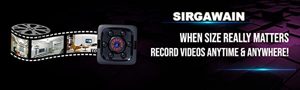 Spy camera can be used to record high quality videos anytime and anywhere