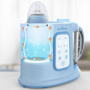 Robot de cocina Eccomum Cocina al Vapor Procesador de Alimentos para Bebés Multifunción, vaporera y batidora, LCD, Apagado Automático, para cocinar al vapor, descongela y calienta: Amazon.es: Bebé