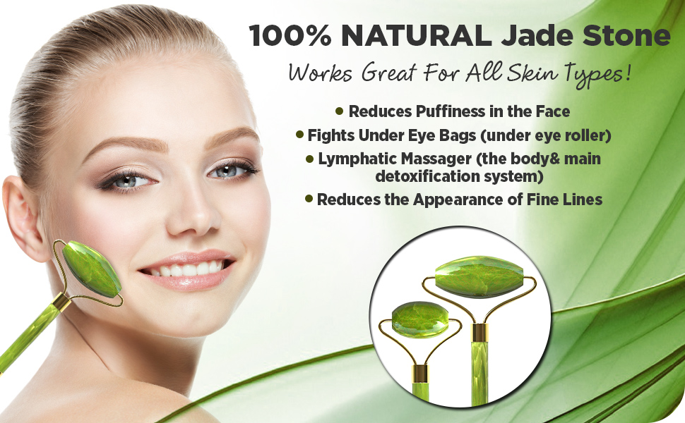 Jade Roller for skin face