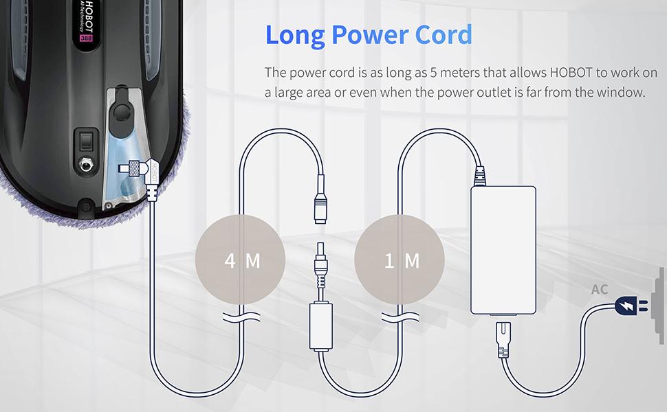 hobot long power cord