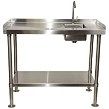 Rite Hite Stainless Steel Fillet Cleaning Table Made In The Usa Heavy Duty Fillet Table To Handle All Your Cleaning Needs