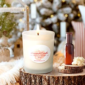 Scented Candles Aromatherapy Gifts Women Jar Set Luxury Natural Soy Wax Fragrance Essential Oils