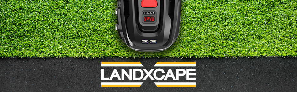 Landxcape robot tondeuse jardin pelouse