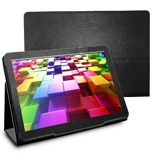 tablet with cover case