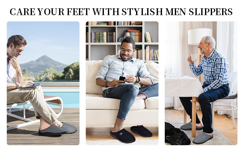 house slippers for men