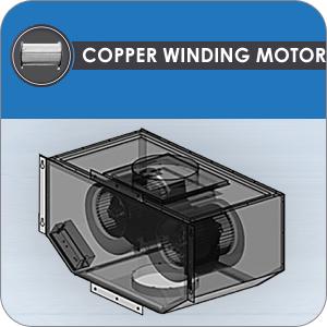 Copper winding motor