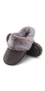 Women's Faux Fur Slippers