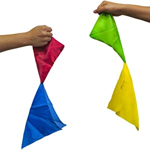 Red and Blue Hanky, Color Changing Hanky, Magic Tricks, Magic Makers
