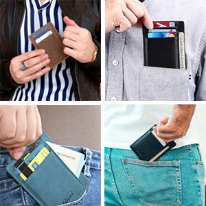 slim wallet men