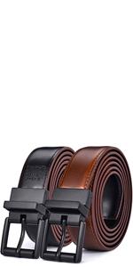 mens reversible belts 1.1inch wide