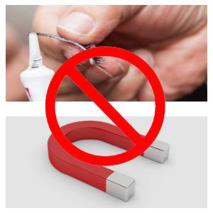 no glue or magnet