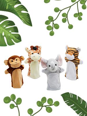 Jungle Puppets