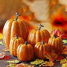 Thanksgiving Artificial Pumpkin Decoration