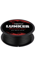 lunker braided line