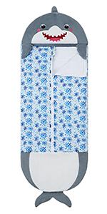 sleeping bag for kids shark