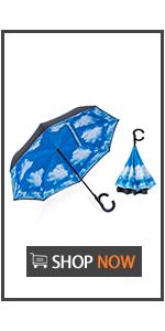 Auto Open Inverted Umbrella