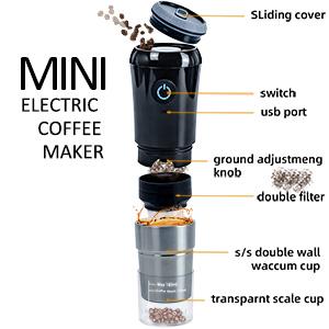 mini portable coffee machine
