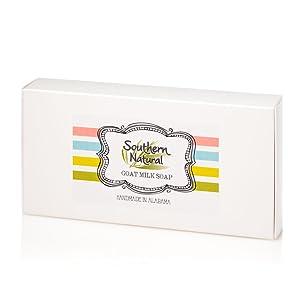 natural goat milk soap gift