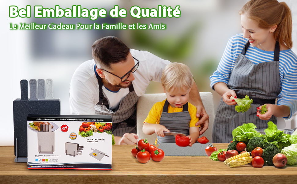 Bel emballage de qualité Le meilleur cadeau pour la famille et les amis.